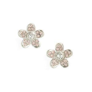Marc Jacobs Silver Flower Stud Earrings